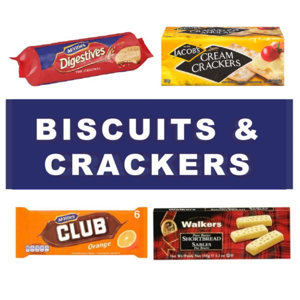 biscuits and crackers