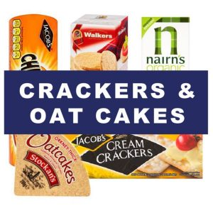Crackers and oatcakes