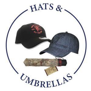 HATS & UMBRELLAS