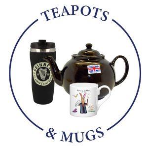 TEA POTS & MUGS